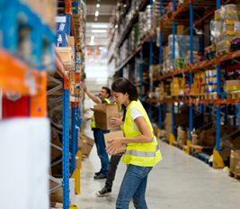 UK fulfilment warehouse