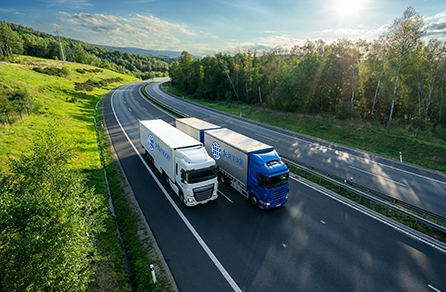 Road freight services provider