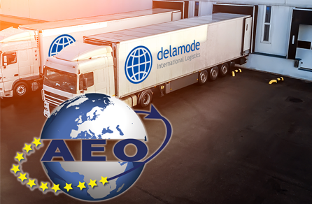 Delamode International Logistics AEO Status