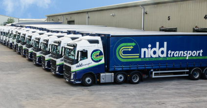 Nidd Transport road freight lorries